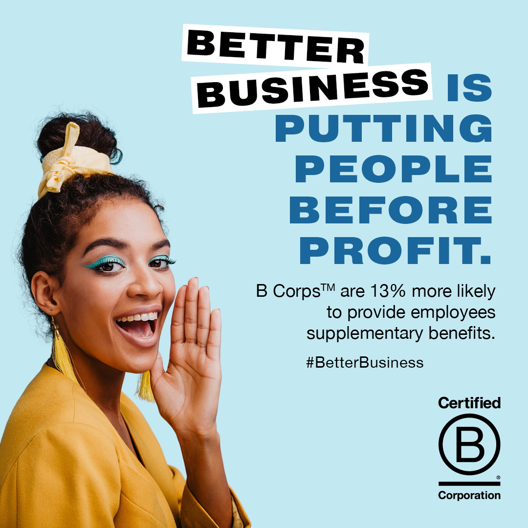 b corp is putting people before profit