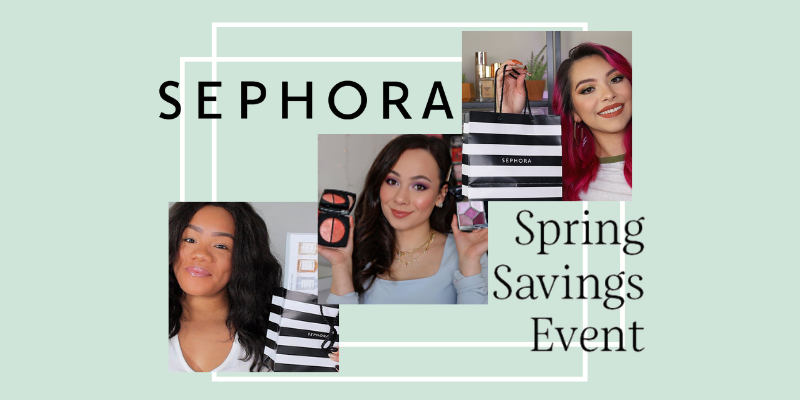 "Did somebody say, ""Sephora coupon""? The 2021 Sephora Spring Savings Event will save rewards members up to 20% sitewide!"