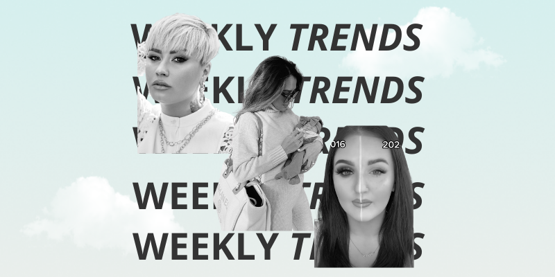 weekly influencer trends and social media influencer trends for the week of 4.2.2021