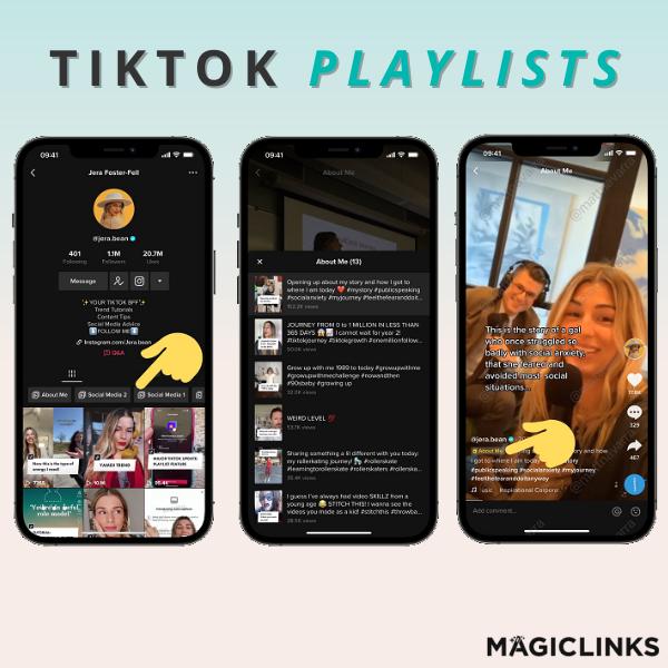 tiktok playlists feature
