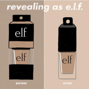 elf sustainable concealer packaging